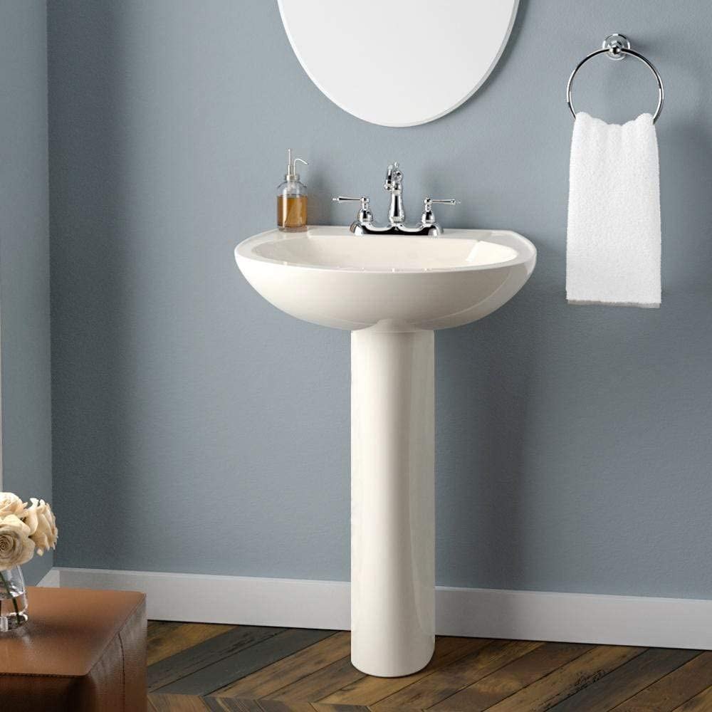 Magnus Home Products Solon 200 Pedestal Max 40% OFF China New popularity Bathroom Vitreous