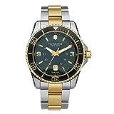 Victorinox Hombre Maverick Large - Reloj de Acero Inoxidable de Cuarzo analógico de fabricación Suiza 241605