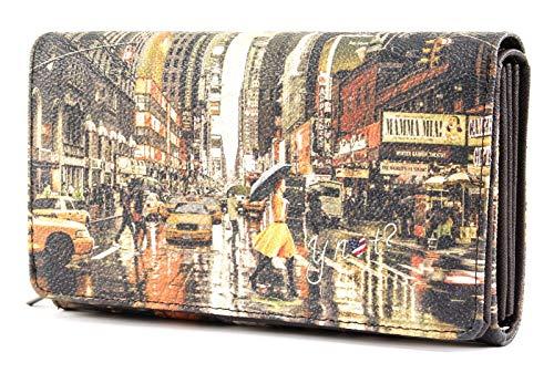 Portafoglio donna YNOT New York art. K364 YELLOW Shopglamour Cod. 8053800435031