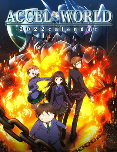 Accel World Calendar 2022: Anime-Manga OFFICIAL Calendar 2021-2022 ,Calendar Planner 2022-2023 with High Quality Pictures for Fans Around the World!