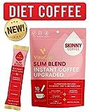 VitaCup Slim Instant Coffee Sticks | Diet & Metabolism | Garcinia & Fiber | Vitamins B1, B5, B6, B9, & B12 |...