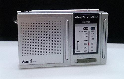 Santoshi - Radio de bolsillo sami (mod. 2909) diseño horizontal