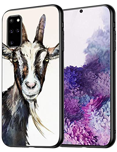 Goat Samsung Galaxy S20 Plus Case Protective Phone Shockproof Black TPU Silicone Bumper Case for Samsung Galaxy S20 Plus