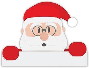 Kerst Stickers | Vader Kerstmis decoratief raam, laptop, koelkast muurstickers
