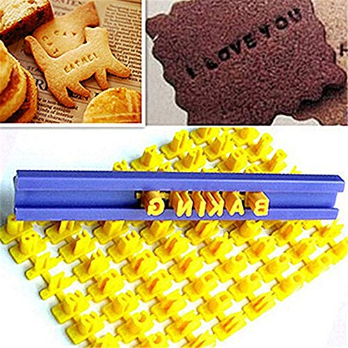 Alphabet Letter Number Cookie Mould Press Stamp Embosser Cutter Fondant Mould zsjhtc