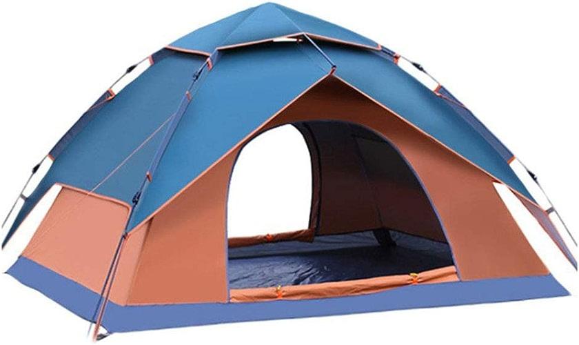 HW 3-4 Personne Camping Tente,Orange