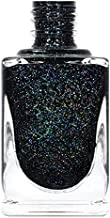 ILNP Cityscape - TRUE Black Holographic Jelly Nail Polish, High Gloss and Sparkle, Long Lasting, Chip Resistant Manicure, Non-Toxic, Vegan, Cruelty Free, 12ml