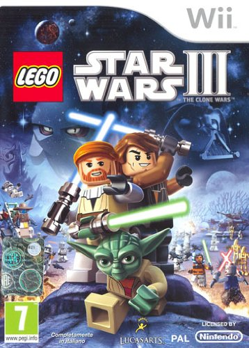 GIOCO VIDEOGAME LEGO WII STAR WARS III THE CLONE WARS