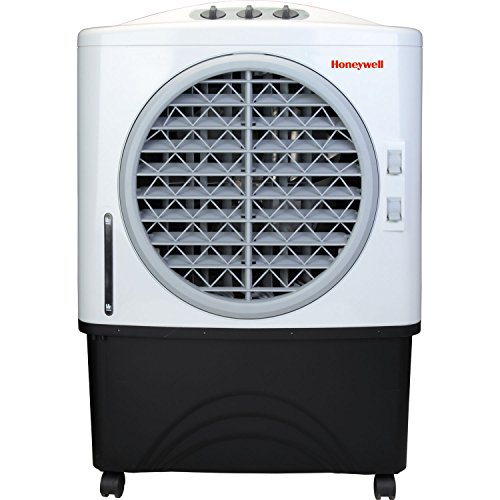 Honeywell Indoor-Outdoor 100 Pint Portable Evaporative Air Cooler with 3 Speeds and Powerful Air Flow
