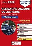 Gendarme adjoint volontaire - GAV APJA et GAV EP - Catégorie C - Tout-en-un - Epreuves de sélection 2020-2021