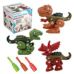 5. Kidtastic Take Apart Dinosaur Building Play Set