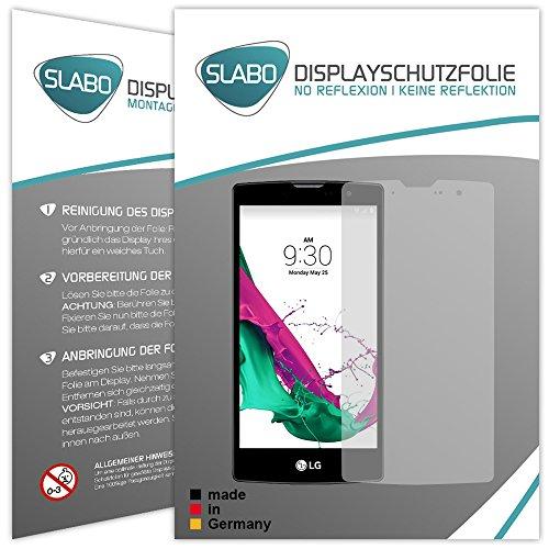 Slabo 4 x Bildschirmschutzfolie für LG G4c Bildschirmfolie Schutzfolie Folie Zubehör No Reflexion MATT