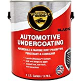 Woolwax Undercoating Protection, Rust Inhibitor and Prevention, Anti Corrosion Multi Purpose Penetrant and Lubricant Lanolin Formula, 1 Gallon Black Color