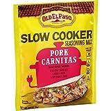 Old El Paso Slow Cooker Seasoning Mix Pork Carnitas, 0.85 oz (Pack of 32)