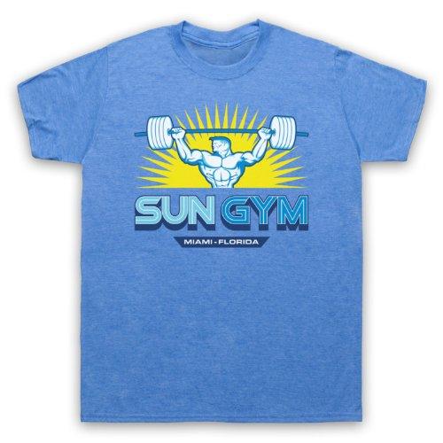 ENERGETICS Messieurs Fitness Shirt Fonction Shirt Massimo T-shirt gris bleu