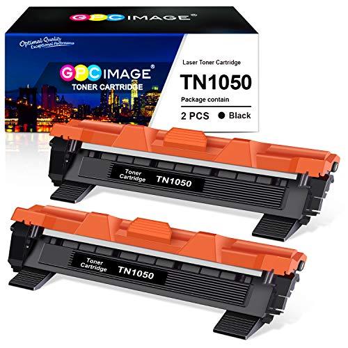 GPC Image TN-1050 TN1050 kompatible für Brother DCP-1510 DCP-1612W DCP-1610W HL-1110 HL-1112 HL-1210W HL-1212W MFC-1910W MFC-1810(2 Schwarz, 1000 Seiten)