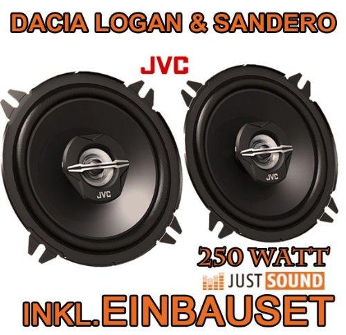 Dacia Logan + Sandero - Lautsprecher - JVC CS-J520-13cm Koaxe