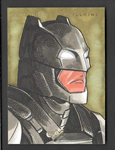 2019 CZX Super Heroes and Super-Villains Sketch Card Jerry Bennett 1/1