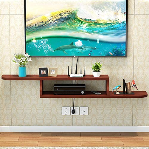 TV meubel Moderne Kabinet van TV Wall Mounted Media Console Audio-Video Shelf Floating TV Recreatiecentra Set Top Box Cable Box Legvlakken (Color : B, Size : 120cm)