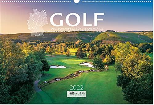 Golf-Kalender 2022 mit Greenfee-Gutscheinen