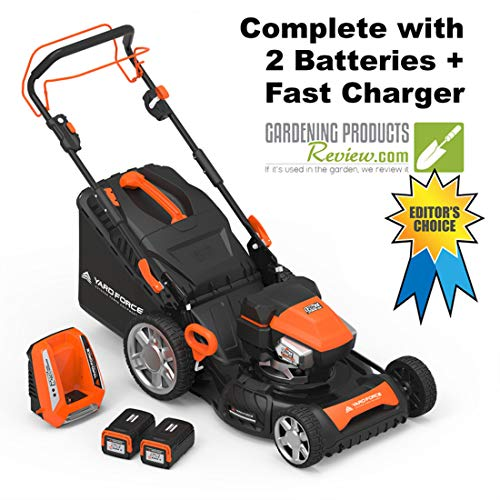 Yard Force YF120vRX Self-Propelled Torque-Sense Battery Electric Lawn Mower Review