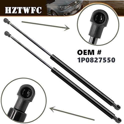 HZTWFC 2 piezas portón trasero de gas puntales de gas resortes soporte de elevación OEM # 1P0827550 1P9827550 34113 Para Seat Leon MK2 (1P1) Hatchback 2005-2012