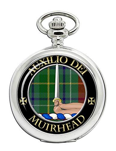 Muirhead Clan Escocés Escudo Full Hunter reloj de bolsillo