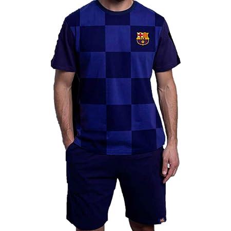 Pijama JR DE Verano Futbol Club Barcelona 2020: Amazon.es: Ropa