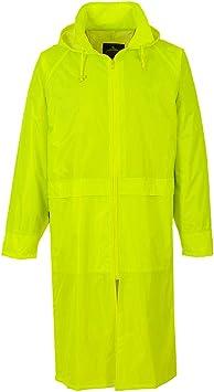 Yellow 3X-Large Fabric Portwest S438YERXXXL Classic Rain Coat