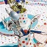Villeroy und Boch Play Blue Ocean Tafelbesteck, für bis zu 6 Personen, 30-teilig, Edelstahl, Griff aus blauem Kunststoff - 4