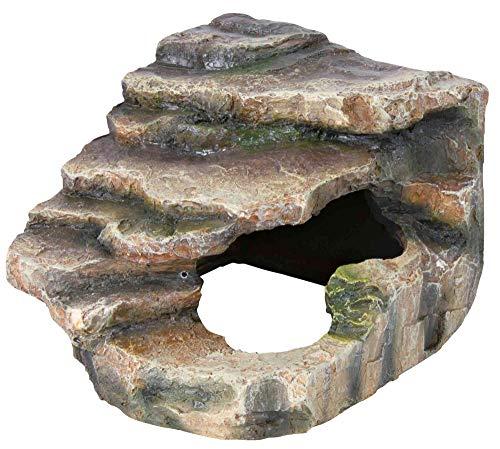 Trixie 76194 Eck-Felsen mit Höhle und Plattform, 16 × 12 × 15 cm - 4