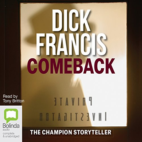 Comeback audiobook cover art