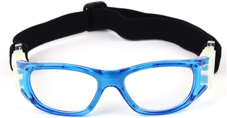 Gafas de Baloncesto para Niños, Ultraligero UV400 Ajustable a Prueba de Viento a Prueba de Polvo Anti Niebla Protector Lentes de Seguridad para Fútbol Voleibol Béisbol