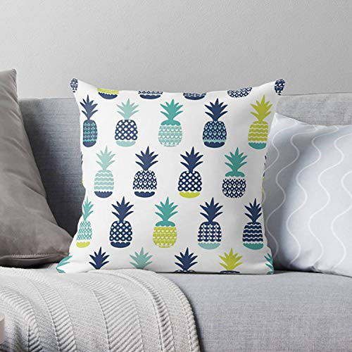 Lplpol Pillow Cover, Pineapple Pillow, Pineapple Throw Pillow, Pineapple Home Decor, Pineapple Decor, Pineapple Gifts, Pineapple Bedding, Decorative Pillowcases For Sofa Bedding 20x20 Inch