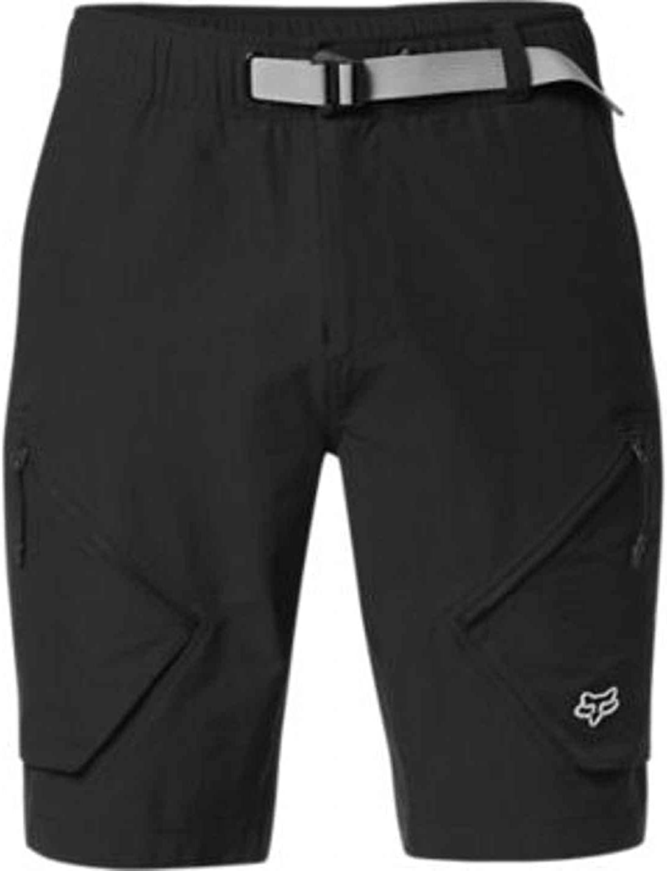 Fox Racing Men's Alpha Cargo Shorts,Small,Black