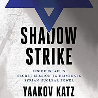 Shadow Strike audiobook cover art