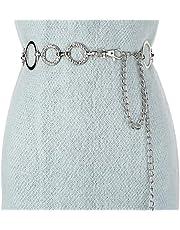 Lente en zomer nieuwe metalen taille ketting, bijpassende jurk trui taille ketting, eenvoudige ronde jurk taille ketting, dames accessoire taille ketting