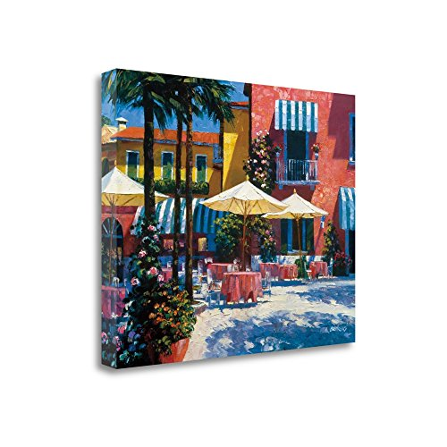 """Inn At Lake Garda"" By Howard Behrens, Fine Art Giclee Print on Gallery Wrap Canvas, Ready to Hang"