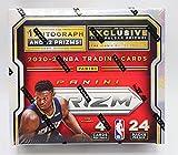 2020/21 Panini Prizm NBA Basketball Retail Box - 24 Packs of 4 Cards Each - 1 Autograph and 12 Prizms Each Box