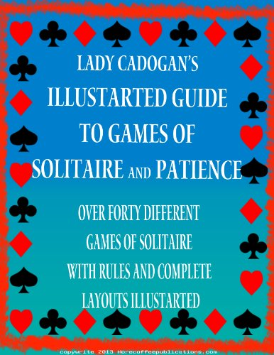 Illustrated Card Games of Patience and Solitaire | Card Games | Playing Cards (English Edition)
