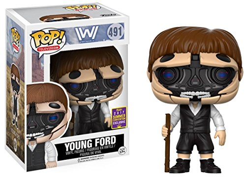 Figura Vinyl Pop! Westworld Young Dr. Ford Unmasked 2017 Exclusive