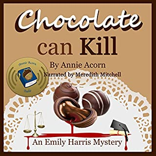 Chocolate Can Kill audiobook cover art