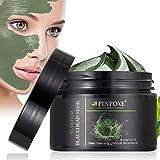 Blackhead Remover Maske, Peel Off Maske, Mitesser Maske, Anti Aging Mask, Gesichtsmaske mit Algen, gegen unreine Haut, fettige Haut& Mitesser, 100% Natural Gesicht & Körper Maske, 120g/4.23...