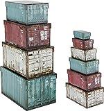 Paper Collection Lote DE 10 Cajas de Regalo de Almacenaje Organizacion Hogar Decorativas 'Container...