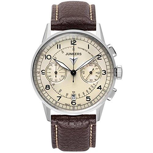 Junkers uomo-Orologio da polso cronografo orologio 69701