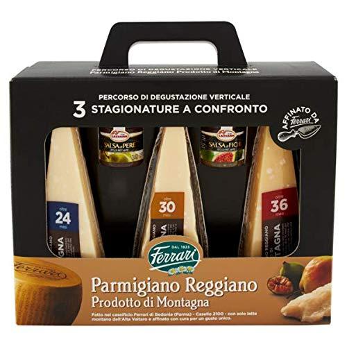 """Cesto natalizio"""" formaggi stagionati con miele"""" percorso di degustazione con 3 stagionature + miele alla pere e ai fichi"""