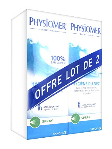 Physiomer Higiene de Nariz Spray Lote de 2 x 135 ml