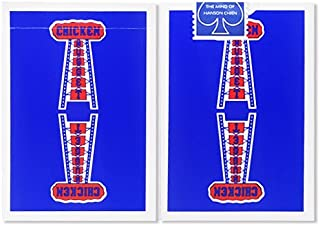 Chicken Nuggets Playing Cards (Blue) Limited Edition Deck by Hanson Chien