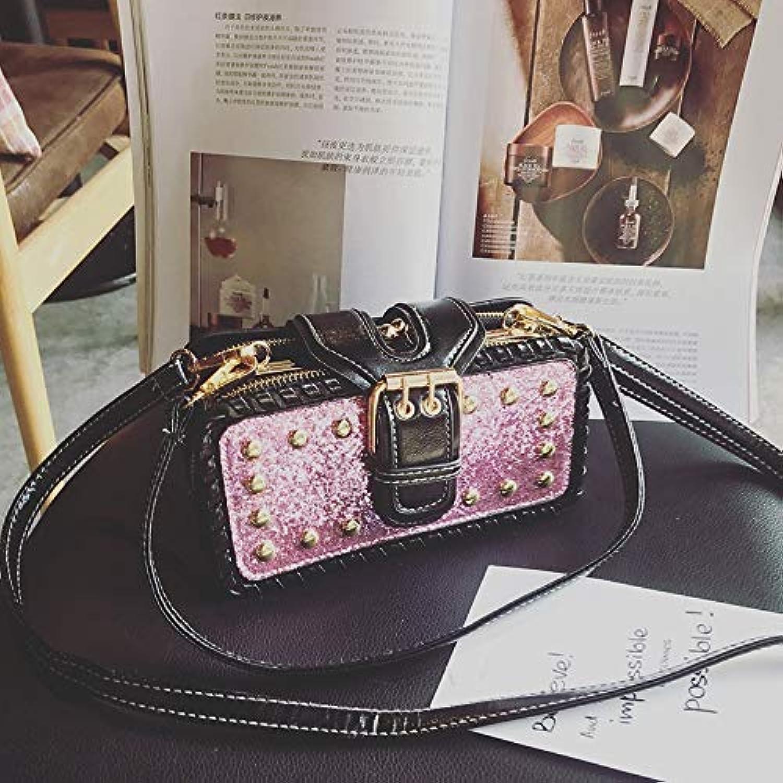 Phone Bag & Accessories  Women Bling PU Leather Bag Rivet Rectangular Wallet Phone Bag for iPhone Samsung