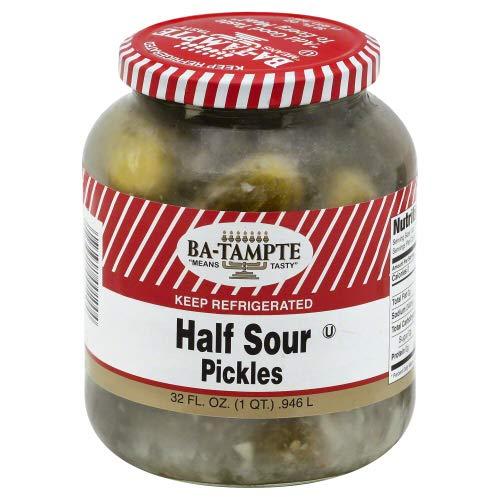 Ba Tampte Half Sour Pickles 32.0 OZ (Pack of 4)